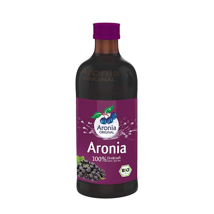 Aronia ORIGINAL organic Aronia berry juice distributed by J&J Aronia in Canada