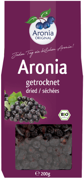 organic dried aronia berries 200 g