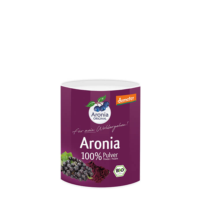 Aronia ORIGINAL Demeter organic Aronia berry powder distributed by J&J Aronia in Canada