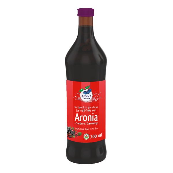 organic aronia berry and cranberry juice 700 ml